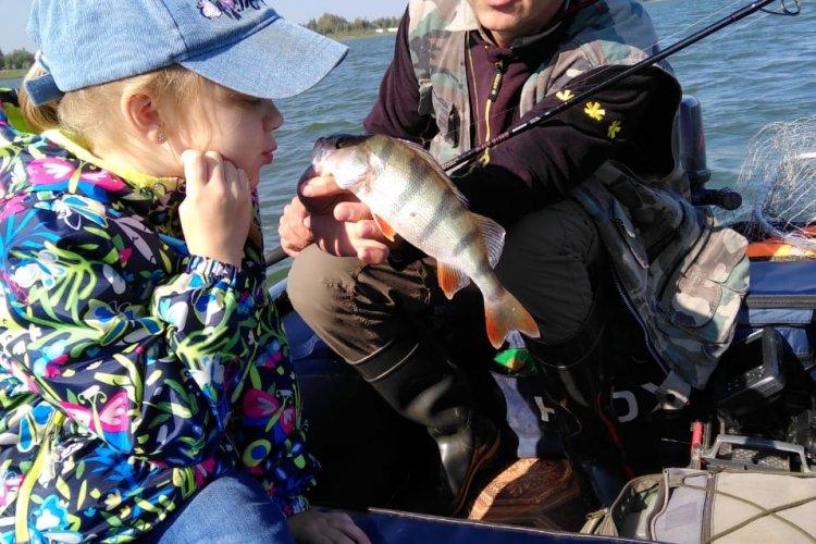 Рыбалка-радость, а рыбалка с семьёй-счастье!!!