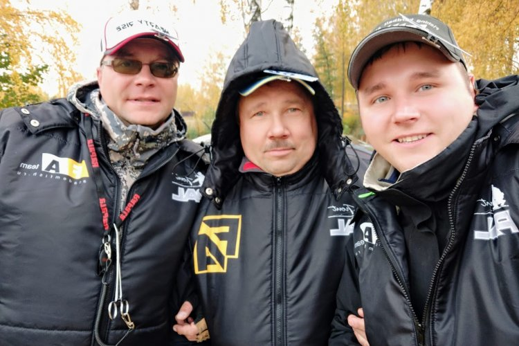 Кубок Московской области по ловле спиннингом с берега 2018
